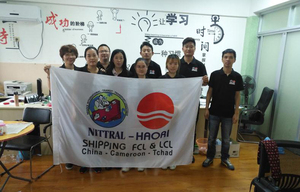 Ningbo office group photo